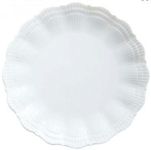 Corail White Dinner Plate