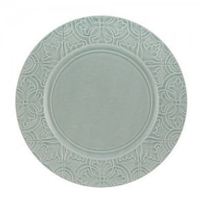 Rua Nova Morning Blue Dinner Plate
