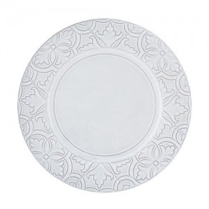 Rua Nova Antique White Dinner Plate