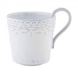 Rua Nova Antique White Mug