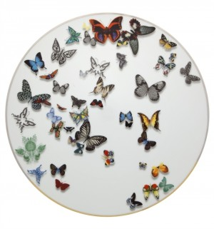 Butterfly Parade Charger