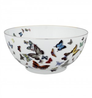 Butterfly Parade Serving Bowl