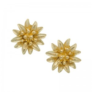 Water Lily Stud Earrings