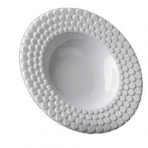 Aegean White Serving Bowl
