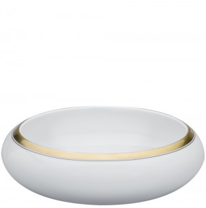 Domo Gold Serving Bowl