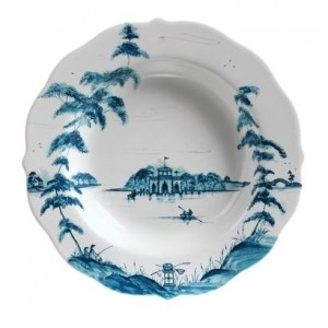 Country Estate Pasta Bowl Boathouse Delft Blue