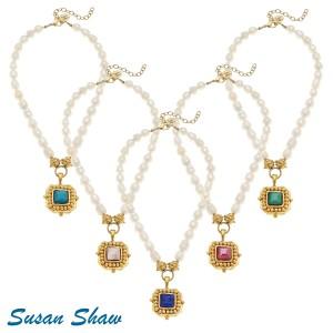 Handcast Gold Pendant Necklace