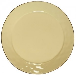 Cantaria Charger Plate Almost Yellow