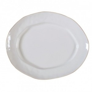 Cantaria Large Oval Platter White