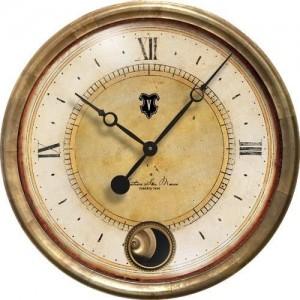 Cafe Venezia Clock Cream