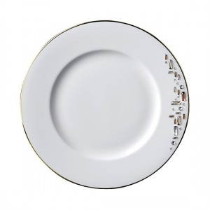 Diana Gold Dinner Plate