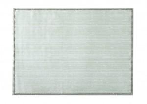 Rectangular Place mat w/ Crystals Silver