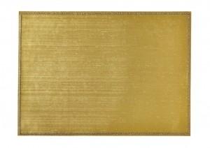 Rectangular Place mat w/ Crystals Gold