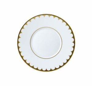 Aegean Filet Gold Saucer
