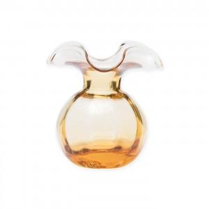 Hibiscus Bud Vase Amber