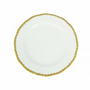 Antique Gold Bread and Butter Plate