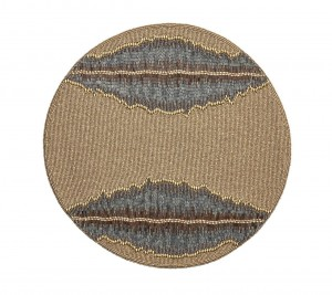 Bali Placemat in Beige and Taupe Set/2