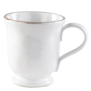 Bianco White Footed Mug