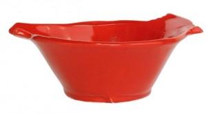 Lastra Holiday Red Bird Medium Bowl