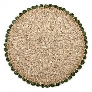Tahitian Border Placemat in Grass