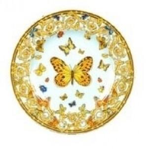 Butterfly Garden Bread and Butter Plate