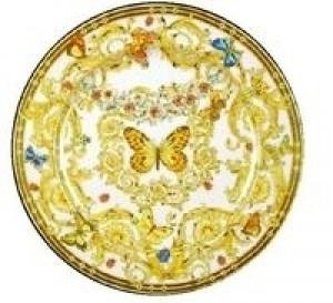 Butterfly Garden Service Plate