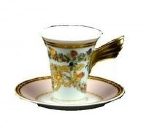 Butterfly Garden Cup and Saucer High