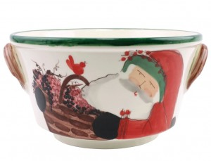 Old St. Nick Celebration Bucket with Grapes