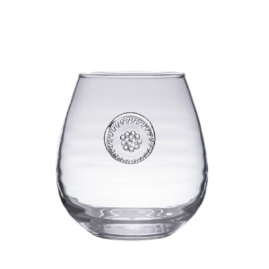 Berry and Thread Stemless Red Wine Glass