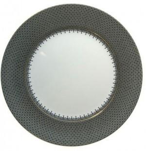 Black Lace Service Plate