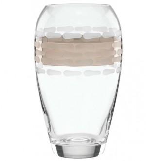 Truro Platinum Glass Vase