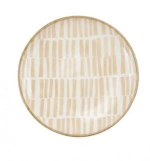 Earth Bamboo Canape Plates Set/4