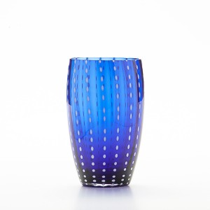 Perle Blue Beverage Glass