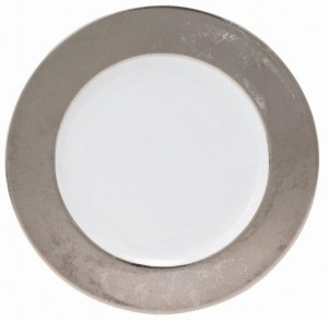Carat Platinum Service Plate
