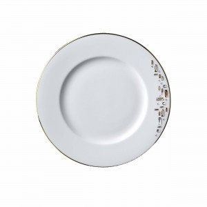 Diana Gold Bread and Butter Plate