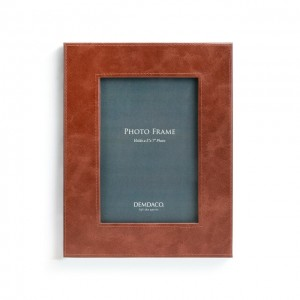 Brown Leather 5x7 Frame