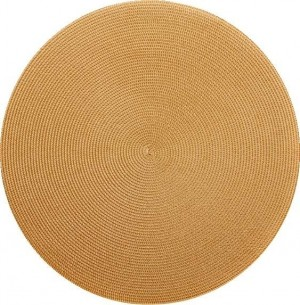 Round Placemat in Gold