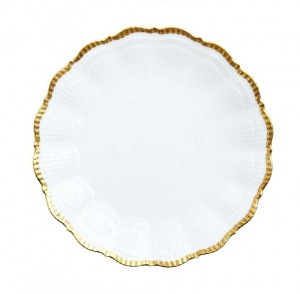 Corail Gold Dessert Plate