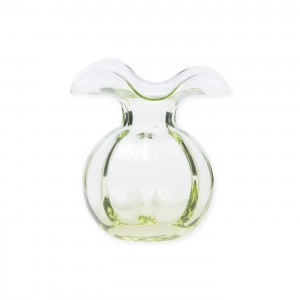 Hibiscus Bud Vase Green