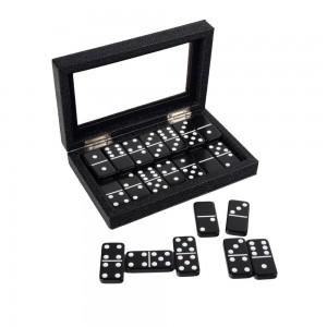 Onyx Domino Set