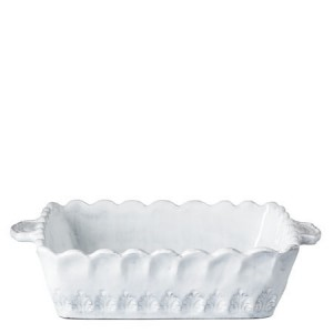 Incanto White Lace Small Square Baking Dish