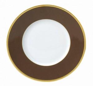 Les Indiennes Presentation Plate Brown