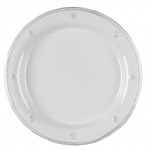 Berry and Thread Dinner Plate Whitewash
