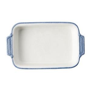 Le Panier White/Delft Rectangular Baker