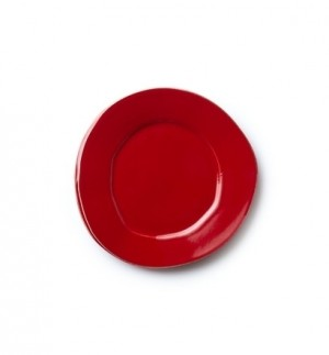 Lastra Red Salad Plate