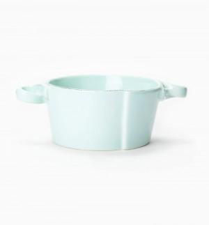 Lastra Aqua Small Handled Bowl