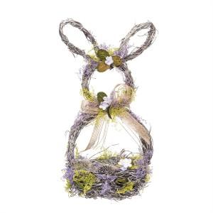 Lavender Rabbit Basket