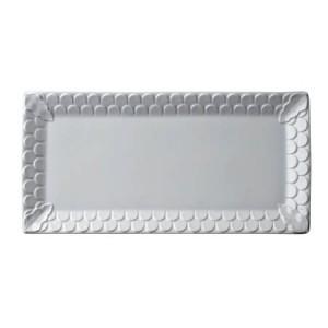 Aegean White Rectangular Platter