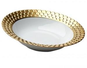 Aegean Gold Serving Bowl