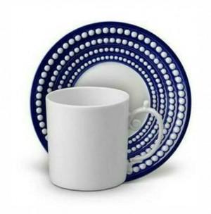 Perlee Bleu Espresso Set